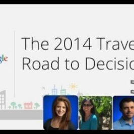 Nuevo Informe de Google – The 2014 Traveler's Road To Decision Study